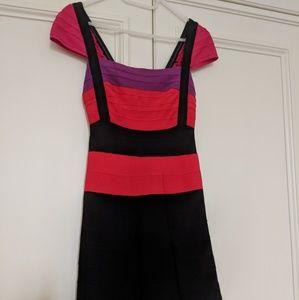 Here Leger multicolor Dress XS